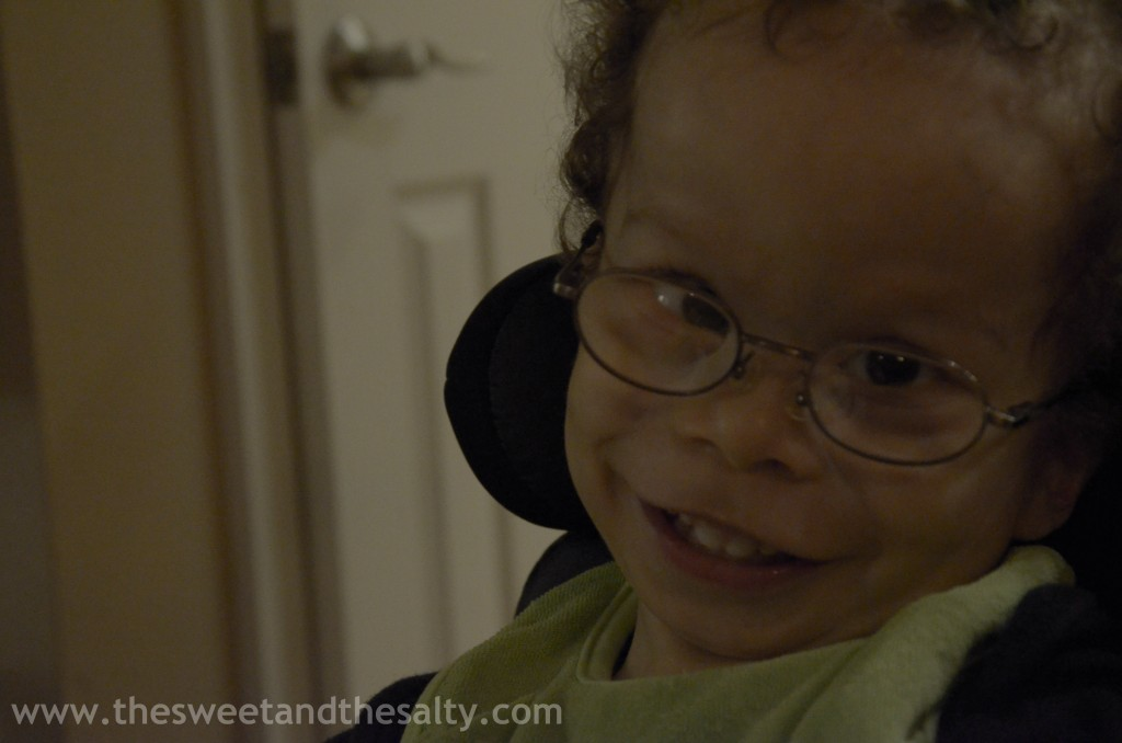 Enjoying This Gift I Have Been Given: Special Needs Parenting www.thesweetandthesalty.com