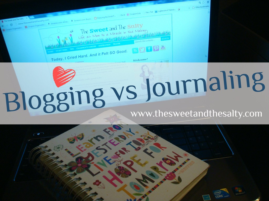 Blogging vs