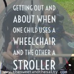 Getting Out and About When One Child Uses A Wheelchair And The Other A Stroller